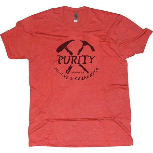 Purity Tri-Blend T-Shirt Apparel Red S