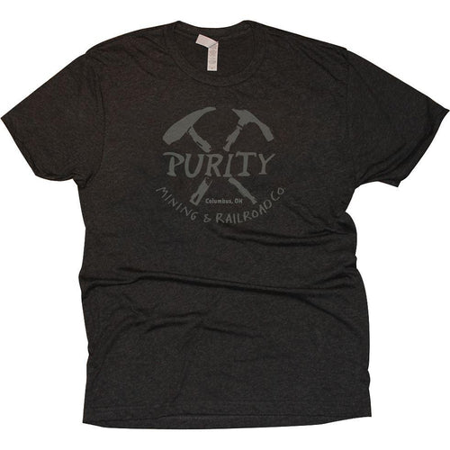 Purity Tri-Blend T-Shirt Apparel Vintage Black S