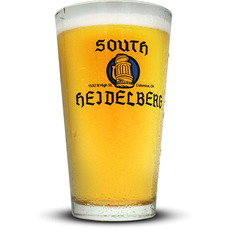 South Heidelberg Pint Glass Glassware