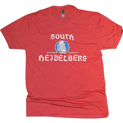 South Heidelberg Tri-Blend T-Shirt Apparel Red S