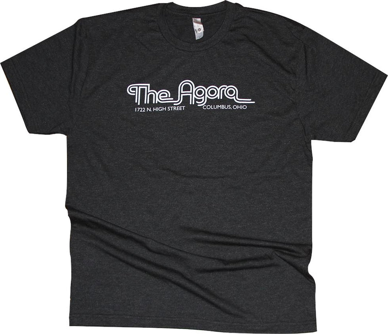 The Agora Ballroom (Columbus) Tr-Blend T-Shirt Apparel Vintage Black S