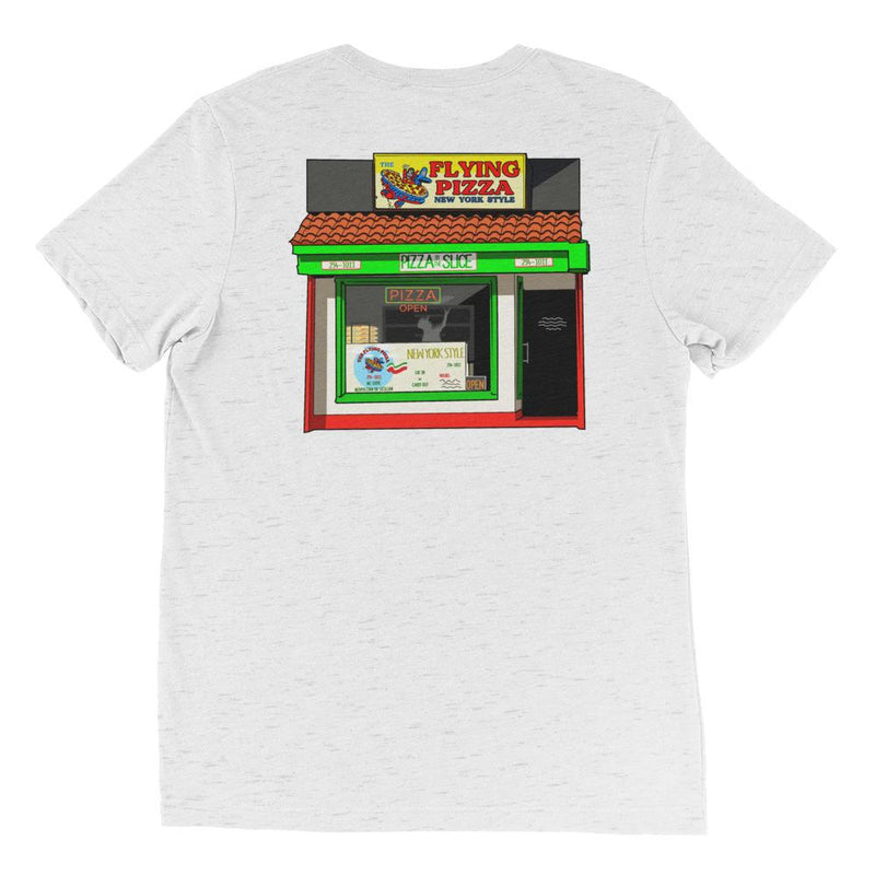 The Flying Pizza Mural t-shirt Apparel
