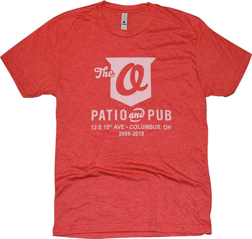 The O Patio T-Shirt Apparel Red S