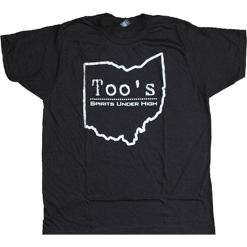 Too's Ohio Outline T-Shirt Apparel Black S