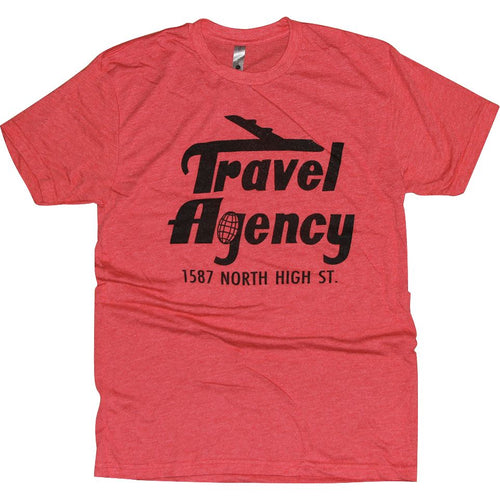 Travel Agency Tri-Blend T-Shirt Apparel Red S