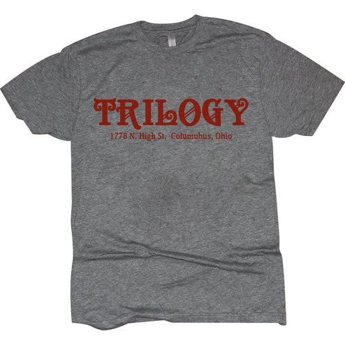 Trilogy Vintage Grey T-Shirt Apparel