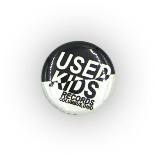 Used Kids Records Button