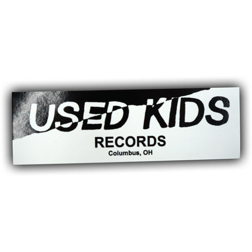 Used Kids Records Sticker