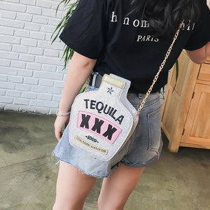 Tequila Bottle Bag