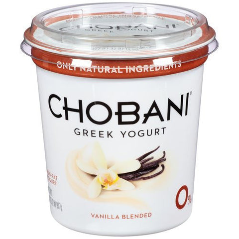 Yogurt, Greek, Vanilla, Large