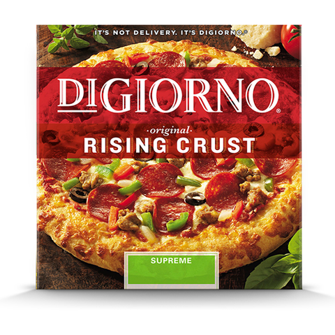 Pizza, DiGiorno Rising Crust Supreme
