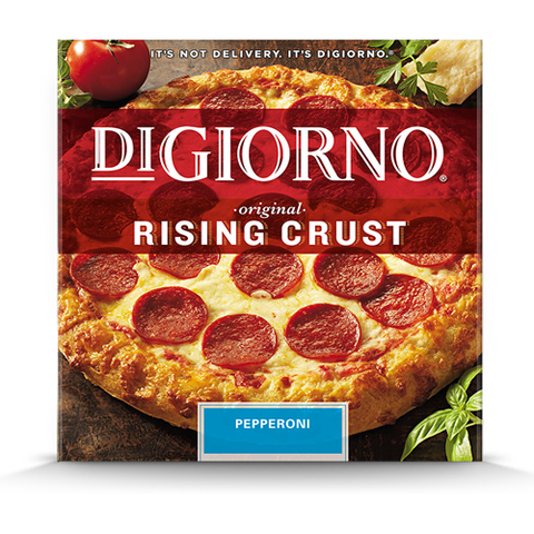Pizza, DiGiorno Rising Crust Pepperoni