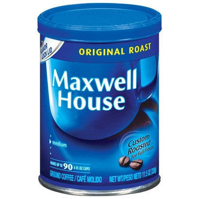 Coffee, Maxwell House Original Roast
