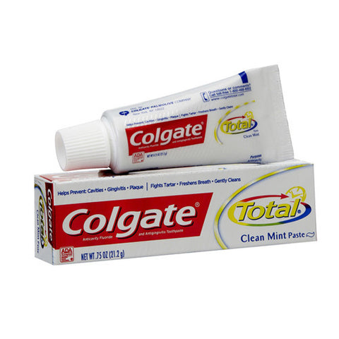 Toothpaste, Colgate, Total, Clean Mint, Travel Size