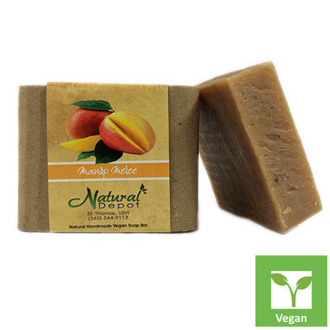 Natural Depot, Handmade Vegan Soap Bar, Mango Melee