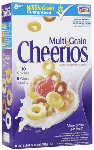 Cheerios, Multi Grain