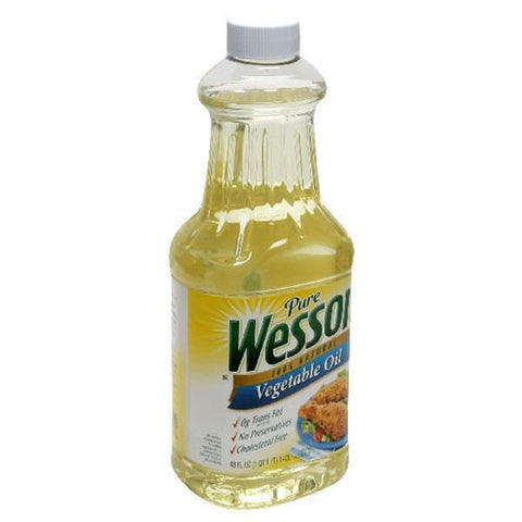 Vegetable Oil, Wesson