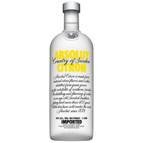 Absolut Vodka, Citron