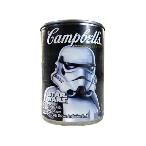 Soup, Pasta with Chicken in Chicken Broth - Star Wars Shapes, Campbell's