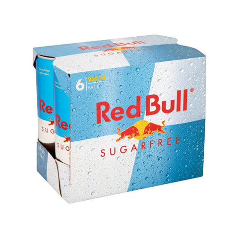 Red Bull, Sugar Free, Cans
