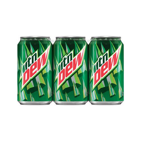 Mountain Dew, Cans