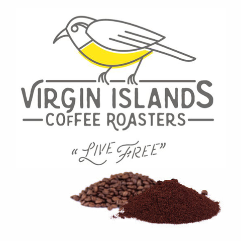 Coffee, Local Virgin Islands Roasted, Colombian - Light Roast