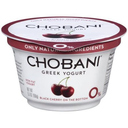 Yogurt, Greek, Black Cherry
