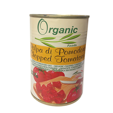 Tomato, Organic Chopped, Imported, Can