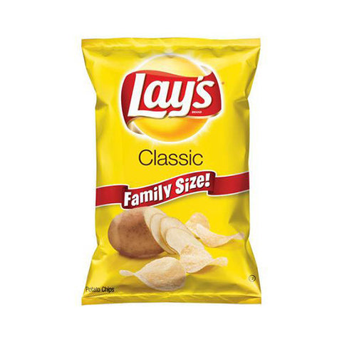 Lay's Classic Potato Chips, Family Size