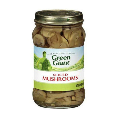 Mushrooms, Sliced, Green Giant