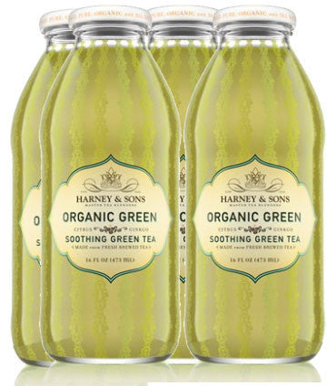 Harney & Sons Organic Green Tea w/ Citrus and Ginkgo, 16 oz