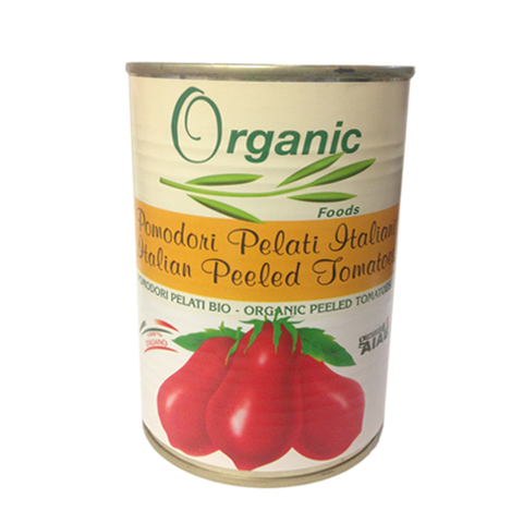 Tomato, Organic Whole Peeled, Imported, Can