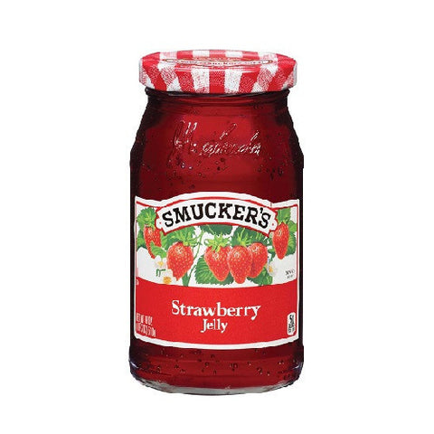 Jelly, Strawberry, Smucker's