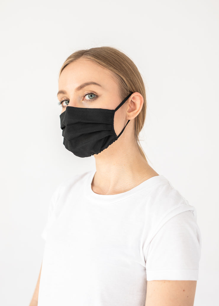 2pk DOUBLE LAYER REUSABLE COTTON FACE MASK