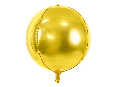 Foil Balloon Ball, 40cm, gold