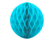 Turquoise Honeycomb Ball, hanging Party Decoration