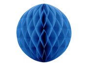 Blue Honeycomb Balls, Paper Hanging decoration,