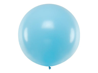 Pastel Blue Giant Latex Balloon, Jumbo Pastel Blue Balloon, Wedding Balloon,