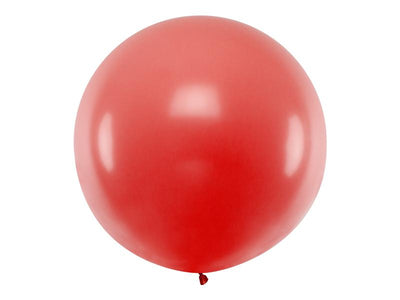 Deco Red Giant Latex Balloon, Jumbo Red Balloon, Wedding Balloon,