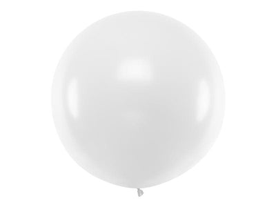 "Pure White Giant Latex Balloon, Jumbo White Balloon, Wedding Balloon, Rustic Wedding Props, 36"" Wedding Balloon"