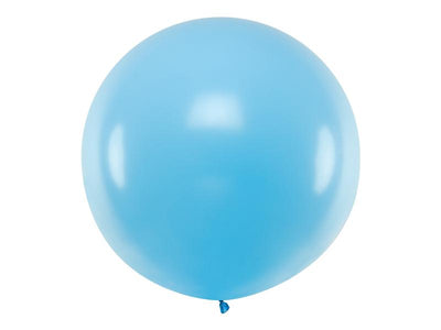 Light Blue Giant Latex Balloon, Jumbo Light Blue Balloon, Wedding Balloon,