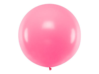 Pink Giant Latex Balloon, Jumbo Pink Balloon, Wedding Balloon, Rustic Wedding Props,