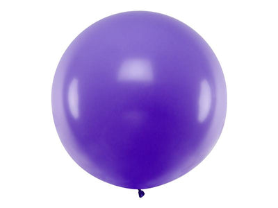 Purple Giant Latex Balloon, Jumbo Purple Balloon, Wedding Balloon,