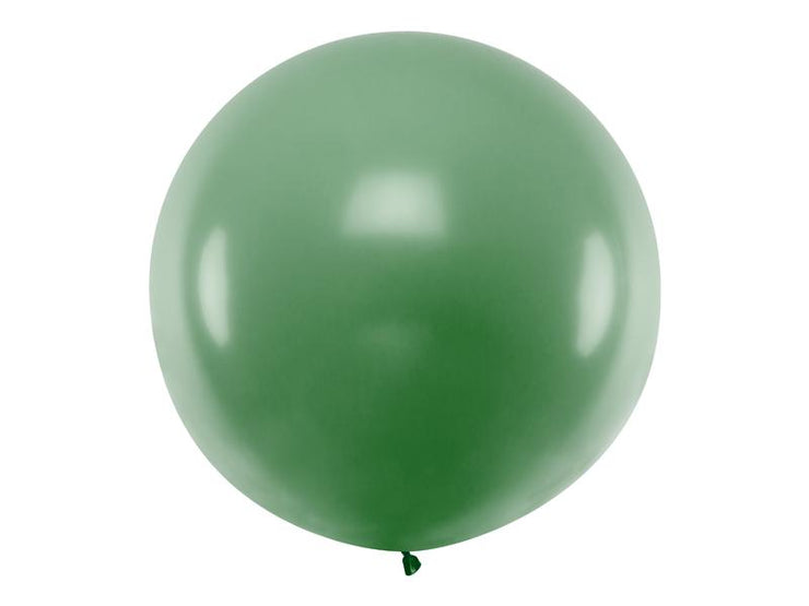 Giant Dark Green Latex Balloon, Jumbo Dark green Balloon, Wedding Balloon,