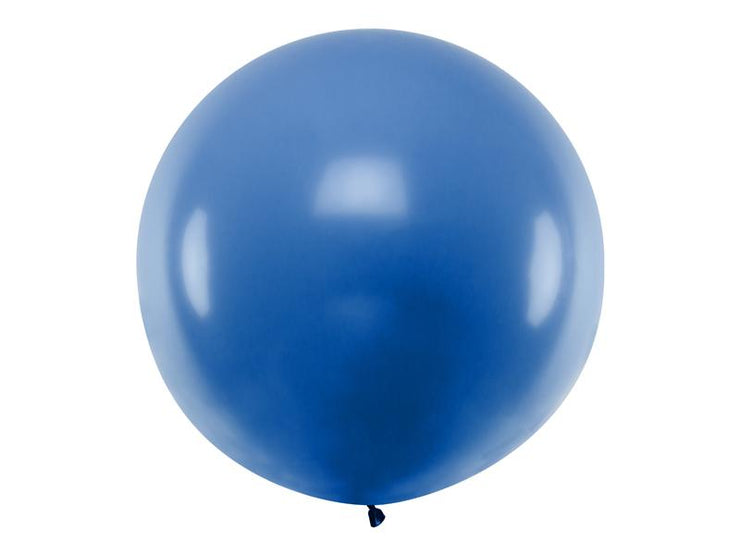 Giant Blue Latex Balloon, Jumbo Blue Balloon, Wedding Balloon, Rustic Wedding Props,