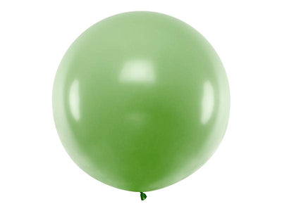 Giant Green Latex Balloon, Jumbo Green Balloon, Wedding Balloon,