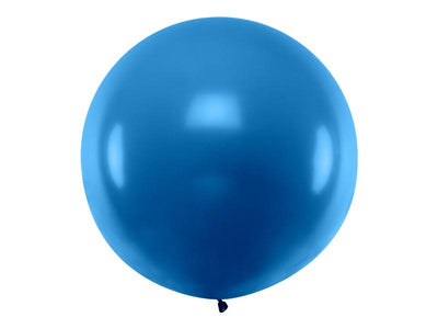 Giant Navy Blue Latex Balloon, Jumbo Navy Blue Balloon, Wedding Balloon,