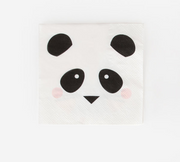 Panda Paper Napkins, Birthday Party, Animal Party Tableware, Kids Party