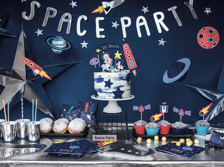 Ultimate Space Party Kit for kids,Space party Decoration, Space Birthday, Rocket Party, Star Wars Party, Space Party Kit