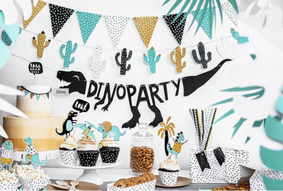 Dinosaur Party In A Box, Dino Birthday Party | Dino Sweet Table | Dino Party Kit